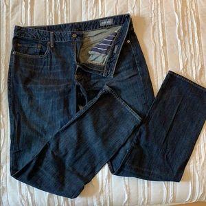 Bonobos straight medium wash jeans